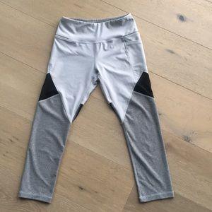 Pants - Gray and black yoga pants